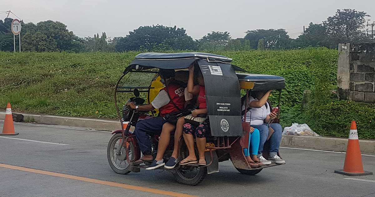 Bildergebnis für tricycle with passenger philippines