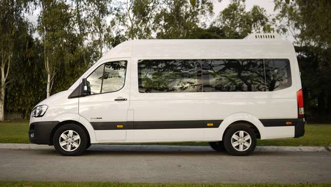 10 things we learned while driving the Hyundai H350
