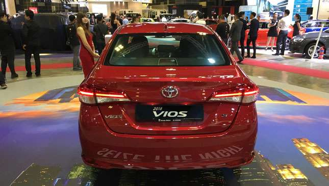 The 2018 Toyota Vios Surfaces In Singapore