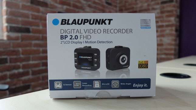 Blaupunkt S Bp 2 0 Dashcam Is An Affordable Minimalist Package