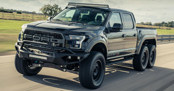 Hennessey Velociraptor 6X6 >> So what's it like to drive the 6x6 Hennessey VelociRaptor?