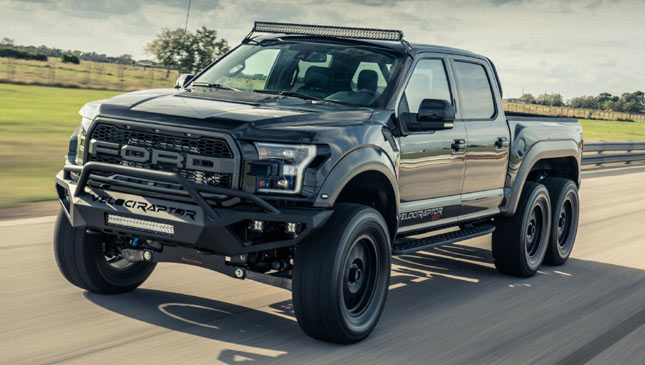 So Whats It Like To Drive The 6x6 Hennessey Velociraptor