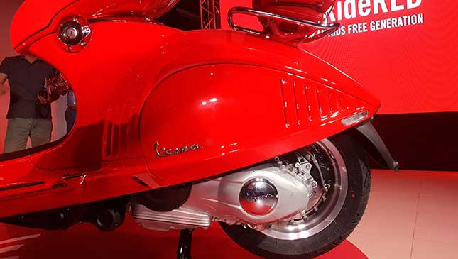 The P777,000 Vespa 946 RED edition is now available in PH
