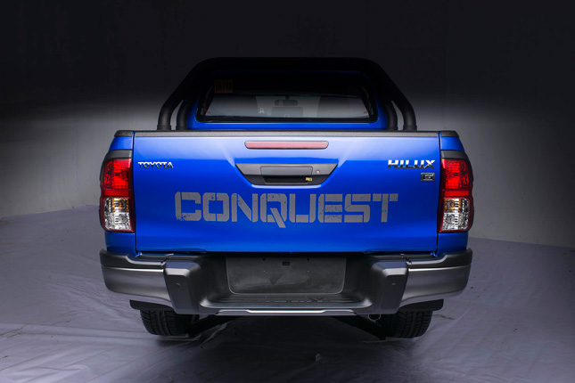 toyota hilux conquest  officially  launched