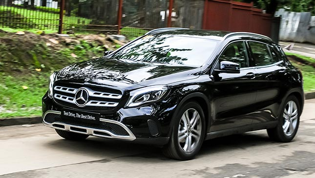 Philippines 39 car automotive authority prices reviews for Mercedes benz gla 180 review