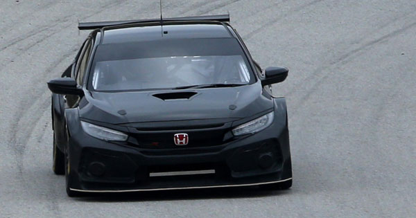 honda civic type  touring car   black racing news top gear philippines