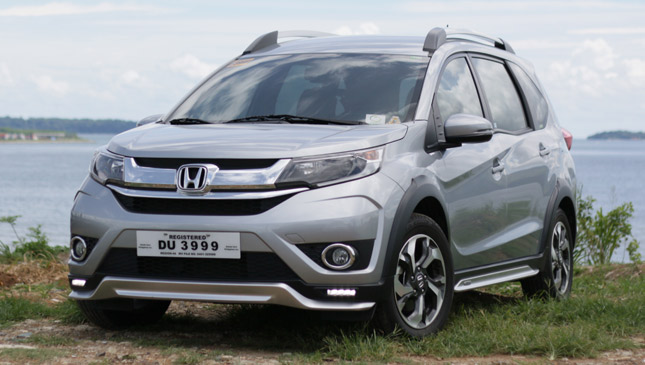 The Honda Br V Is Like A Premium Economy Class Cabin