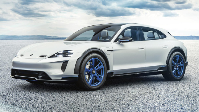 The Porsche Mission E Cross Turismo Is A Promising New Concept