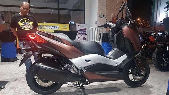 2017 Yamaha 300cc XMax: Specs, Price, Features