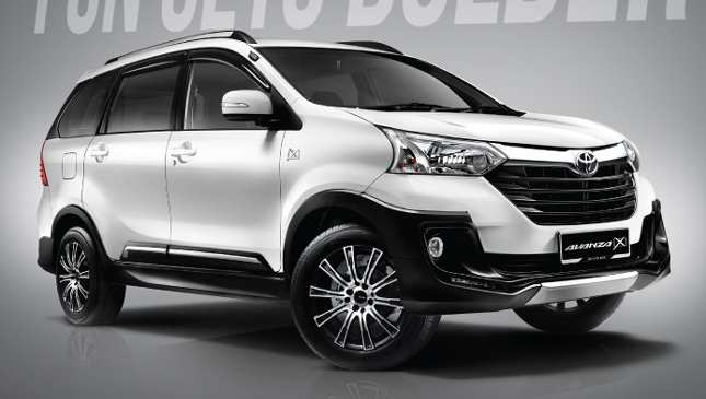 The Avanza 'X' is a Toyota MPV on steroids