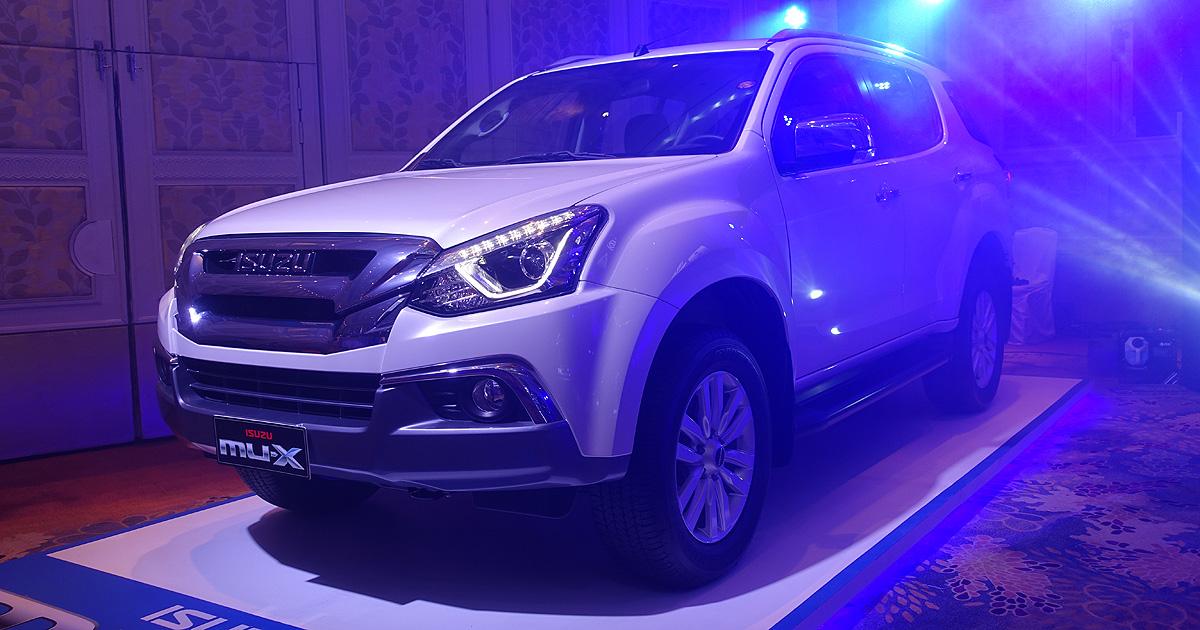 Isuzu Mux 2018 Price Philippines >> Isuzu reveals the MU-X RZ4E: price, specs, features | Car News | Top Gear Philippines