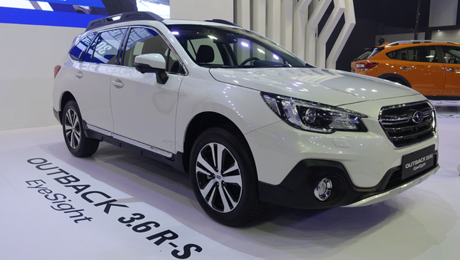 Subaru Brings Eyesight Tech To Ph Market Via Levorg Xv And Outback