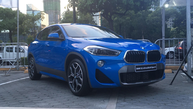 Bmw X2 Officially Launched In Ph