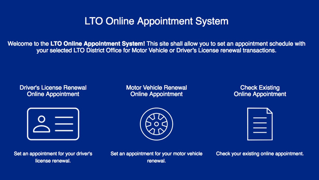 you can book license and registration renewal online now