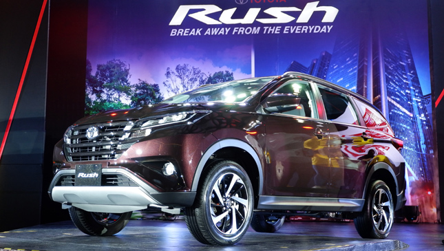 Toyota Rush 2018 Photos And Features