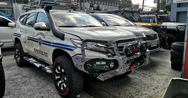 This Beefed Up Montero Sport Could Be The Hpg S New Ride