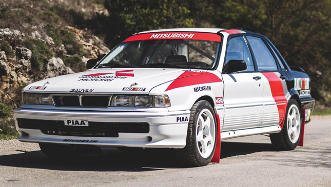 This Mitsubishi Galant Rally Car Can Be Yours For P7 Million