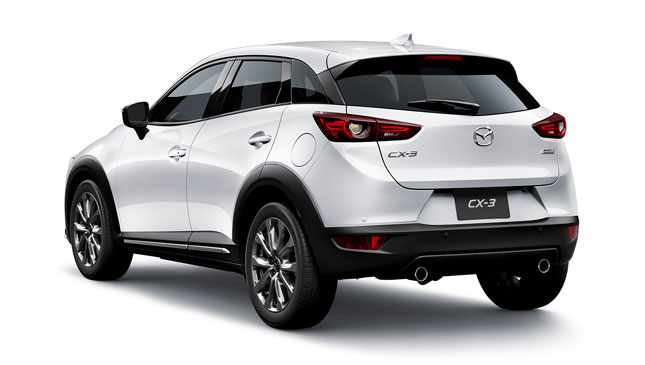 mazda cx 3 diesel 2018 specs features photos. Black Bedroom Furniture Sets. Home Design Ideas