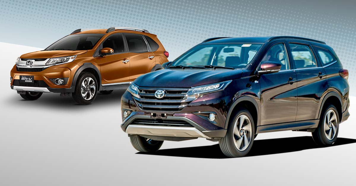 Seven Seater Suv >> Honda BR-V vs. Toyota Rush: Specs, Prices, Features