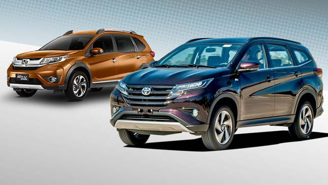 Honda Br V Vs Toyota Rush Specs Prices Features
