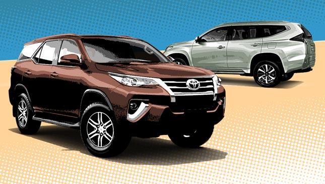 Toyota Fortuner or Mitsubishi Montero Sport 2018: Review ...
