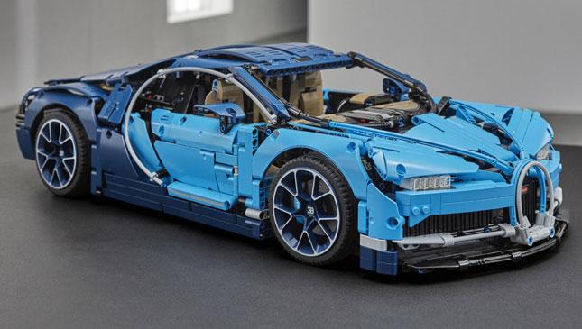 Lego Technic Has Released A 3599 Piece Bugatti Chiron Toy