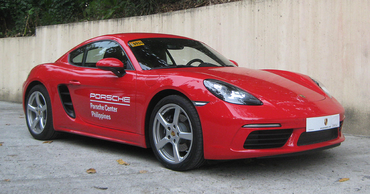 porsche 718 cayman 2018 review specs price features drives top gear philippines. Black Bedroom Furniture Sets. Home Design Ideas