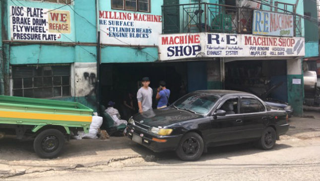 What are the regulations of parking in front of establishments?