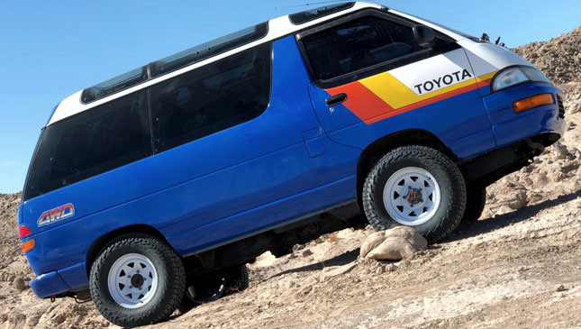 This 4x4 Lite Ace is the coolest Toyota minivan we've ever seen