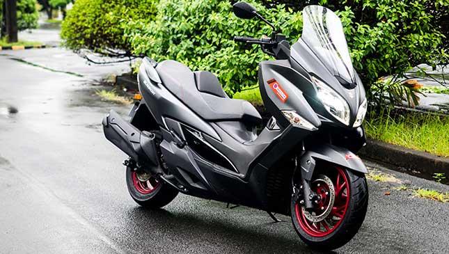 Review Suzuki Burgman 400cc