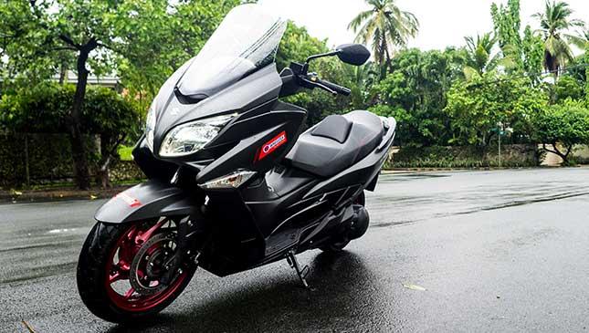 Suzuki Burgman 400cc: Review, specs, price and photos
