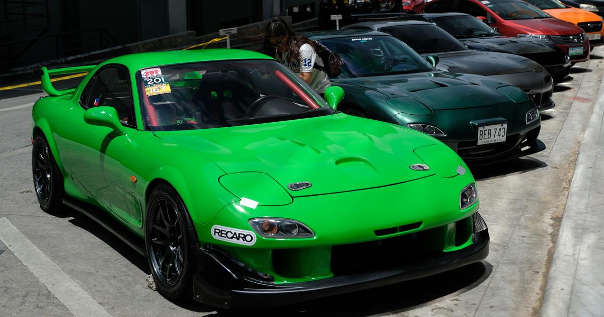 Mazda Rx 7 Top Gear Philippines