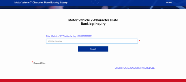 LTO now lets you check if your license plates are ready online