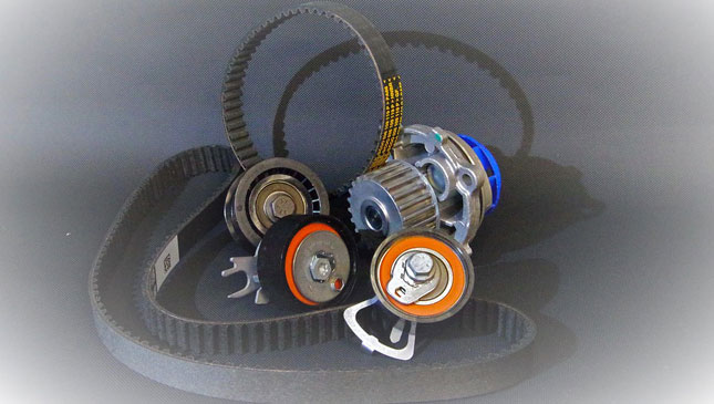 When should I replace my AUV's timing belt?