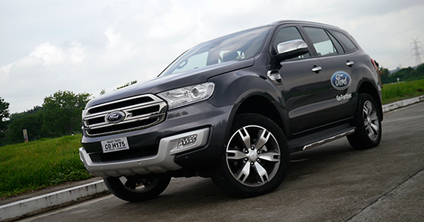 Ford Everest Top Gear Philippines