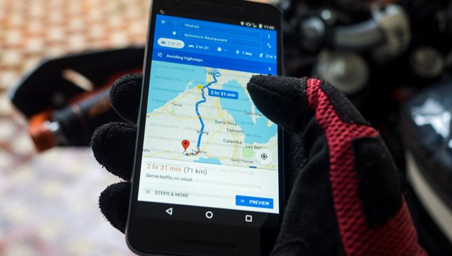 A review of Google Maps' new motorcycle navigation feature