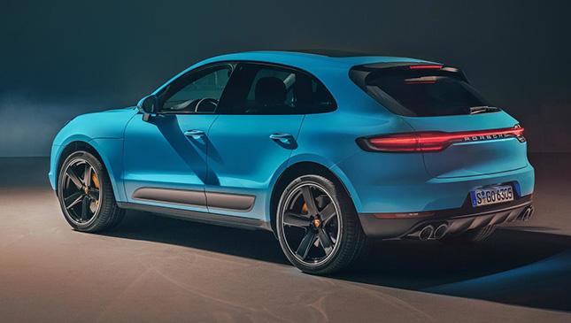 Is The New Porsche Macan S Rear Light A Nod To The Next 911