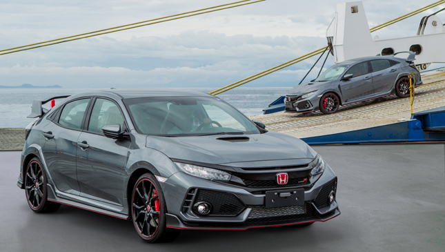 The Next Batch Of Civic Type R Units Has Arrived