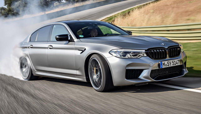 The BMW M5 Competition Is For Those Who Think Too Much Is Just Right