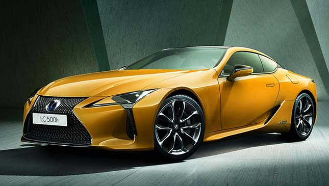 Thereu0027s A U0027Limited Editionu0027 Yellow Lexus LC