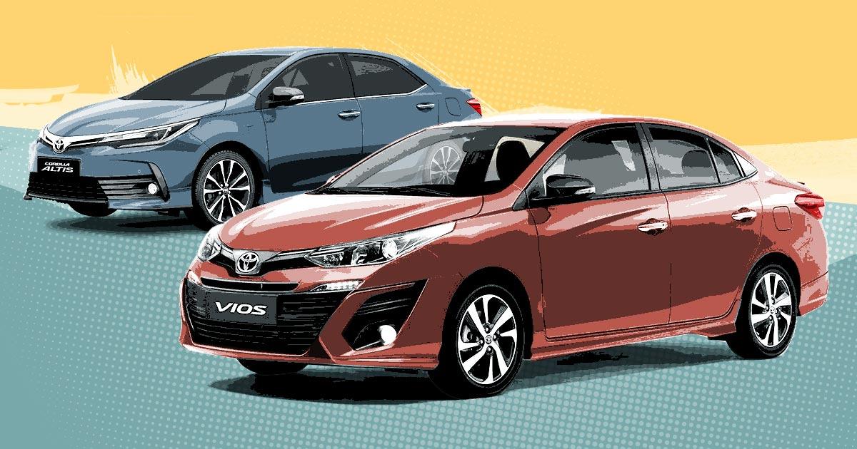 Toyota Corolla Altis, Vios 2018: Specs, Prices, Features