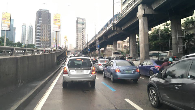 Single passenger edsa rule