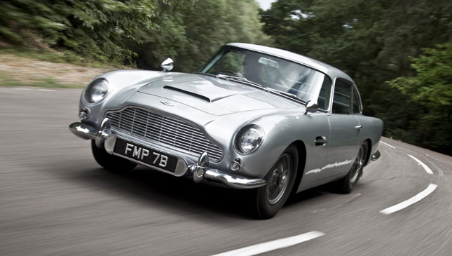 Review The Original Aston Martin DB From Goldfinger Feature - Aston martin db5