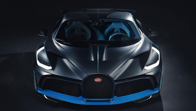 Bugatti unveiled a new $5.8 million supercar and it's already sold out