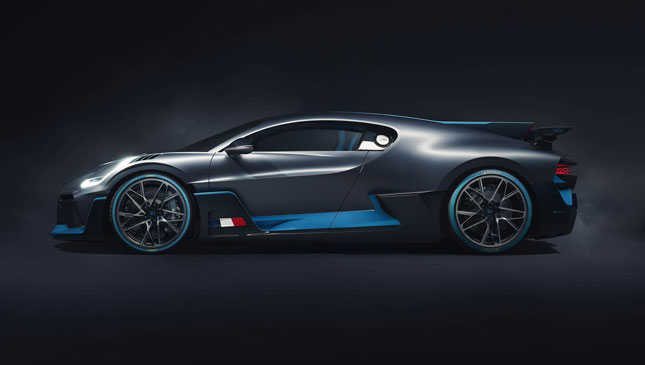 New Bugatti Divo: track-focused Chiron-based hypercar launched
