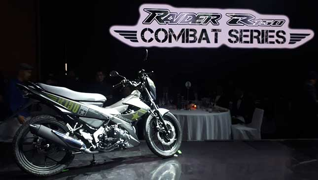 Suzuki Skydrive, Raider 150 Combat Series 2018: Price, Features
