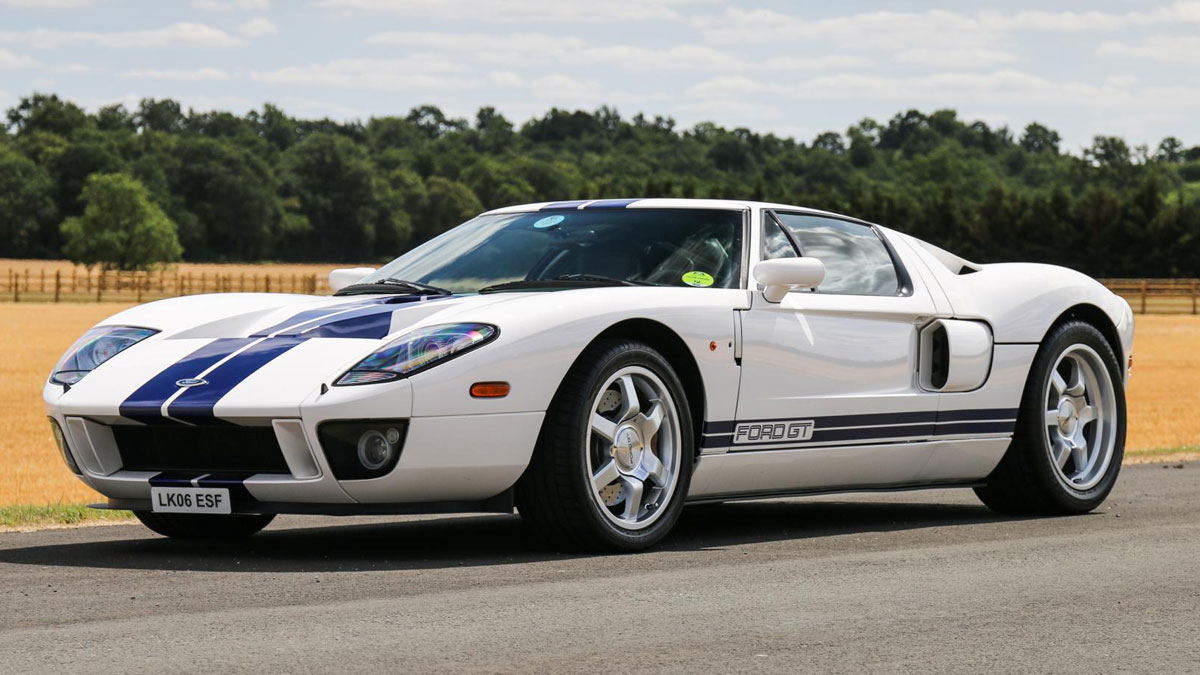 How much does a 2006 ford gt cost these days