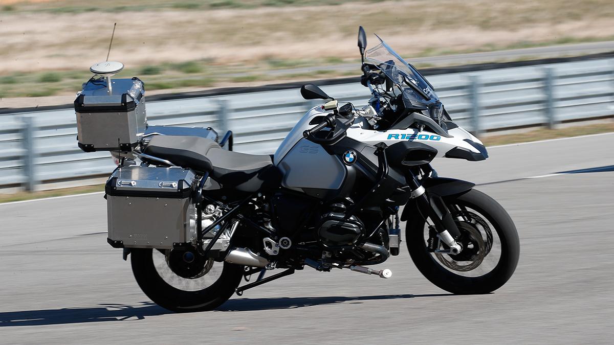 BMW Motorrad creates autonomous BMW R 1200 GS