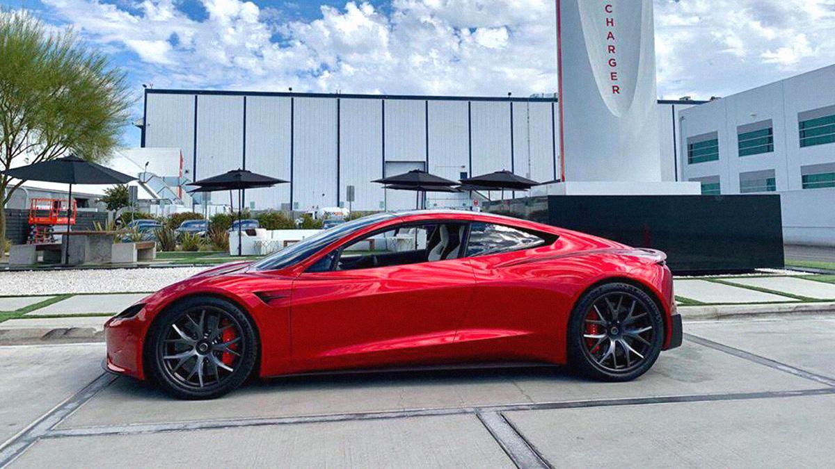 New images of the next-gen Tesla Roadster
