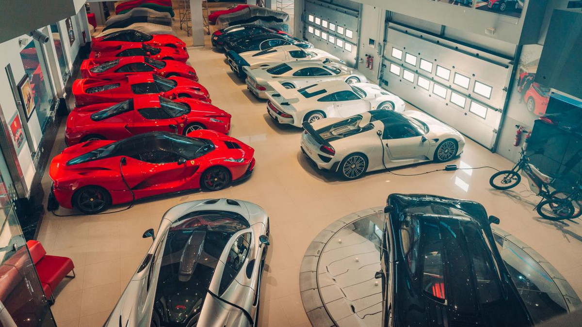 Private Supercar Collection In Bahrain Boasts Ultra Rare Machines